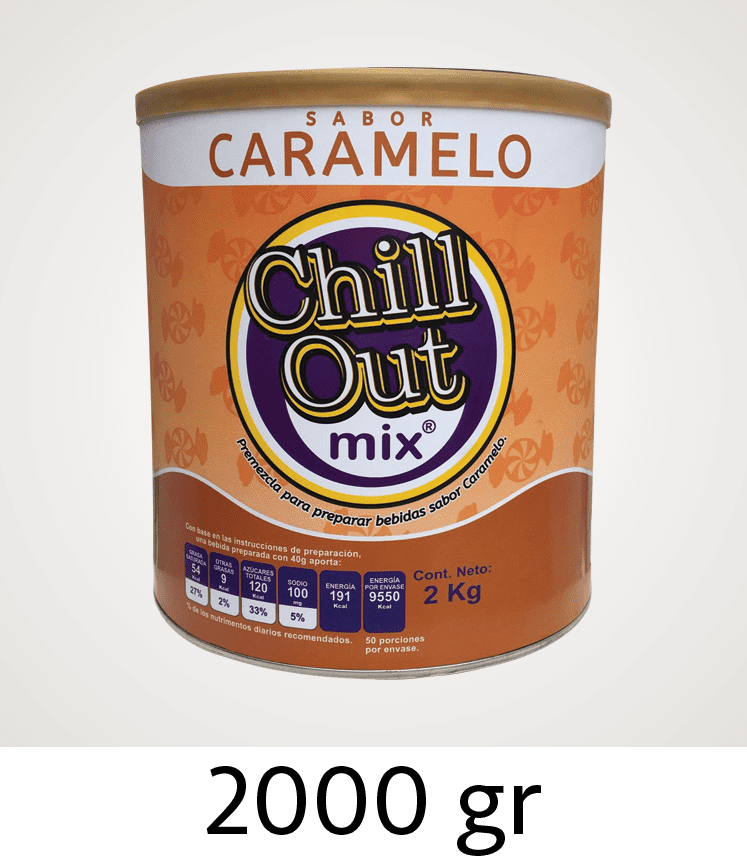 Bases para productos ChillOut Mix 2000 gr
