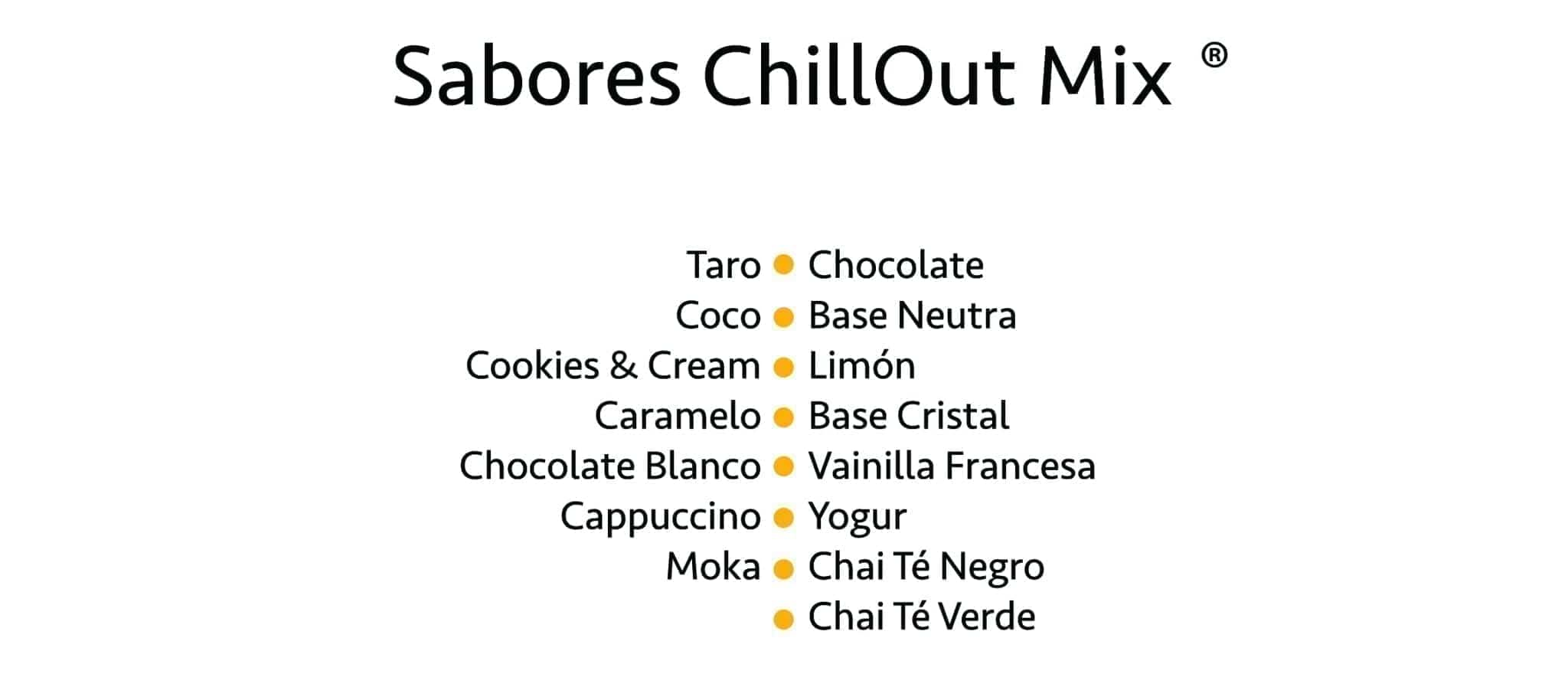 Sabores ChillOut Mix