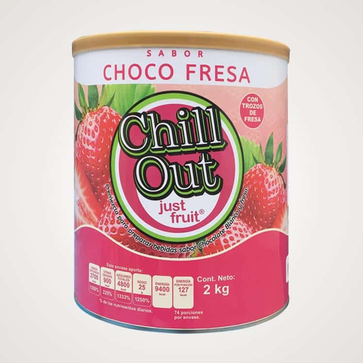 ChillOut Just Fruit Choco Fresa