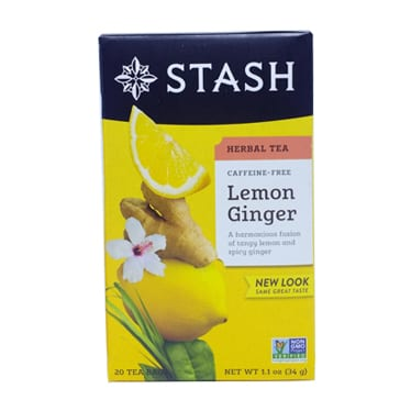 Te en sobres Stash Lemon Ginger 01